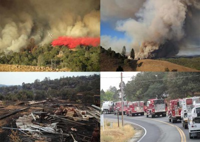 Butte Fire images by Gordon Long