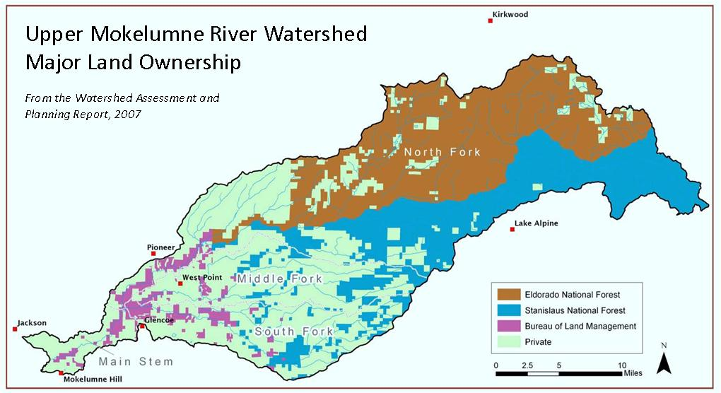 US Forest Service, Upper Mokelumne River Watershed Authority to Improve Critical Watershed:  media and public invited to May 18 signing event