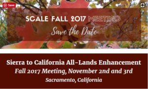 SCALE Fall 2017 Meeting